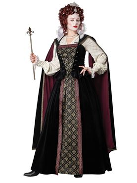 Adult Elizabethan Queen Costume