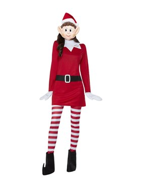 Adult Elves Behavin' Badly Ladies Elf Costume Couples Costume