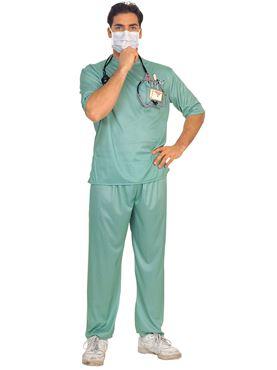 Adult Emergency Room Surgeon Costume