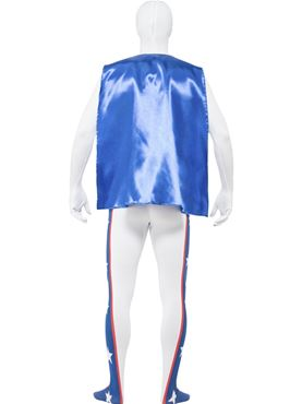 Adult Evel Knievel Second Skin Costume - Side View