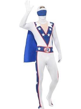 Adult Evel Knievel Second Skin Costume