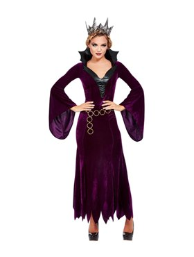 Adult Evil Queen Costume - Back View