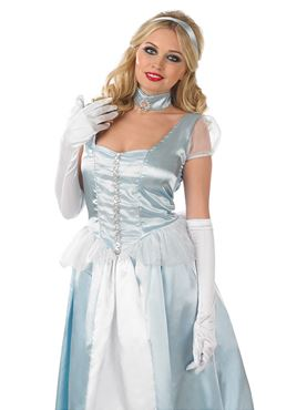 Adult Fairy Tale Princess Costume - Back View
