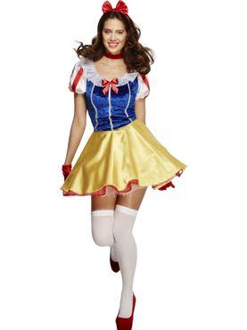 Adult Fairytale Snow Princess Costume