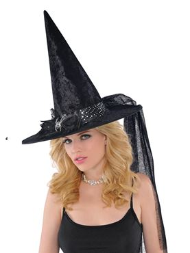 Adult Fancy Witch Hat