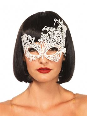 Adult Fantasy Venetian Eyemask - Back View