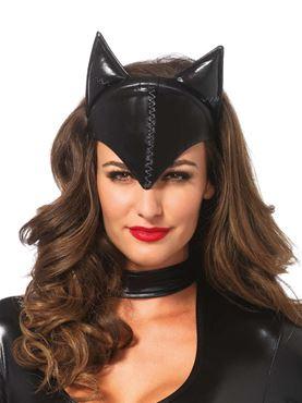 Adult Feline Femme Fatale Headband Mask