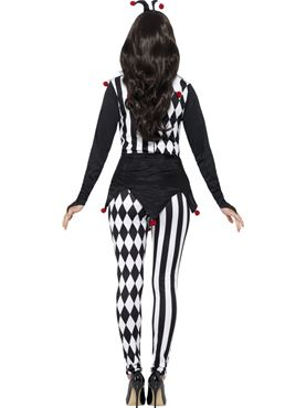 Adult Female Jester Costume - Side View