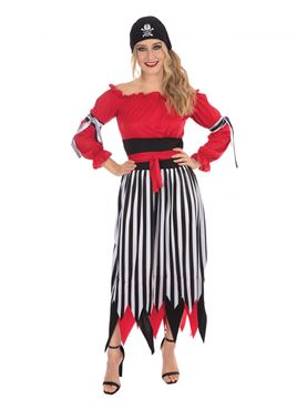 Adult Female Pirate Costume