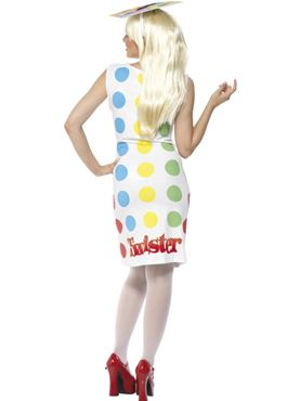 Adult Female Twister Costume - Side View