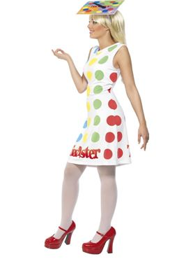 Adult Female Twister Costume - Back View