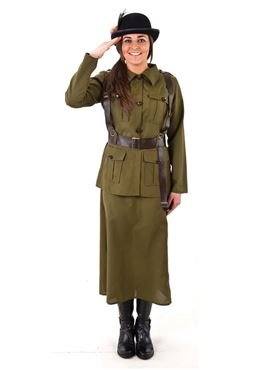 Adult Female Volunteer Costume