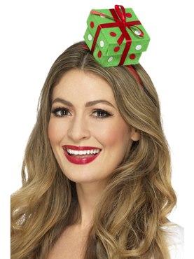 Adult Festive Present Headband