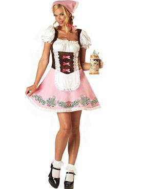 Adult Fetching Fraulein Oktoberfest Costume