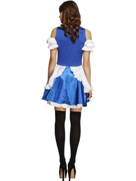 Adult Fever Alice Costume - Side View
