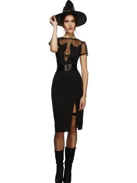 Adult Fever Enchanting Cat Witch Costume