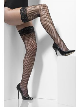 Adult Fever Black Diamond Net Hold Ups
