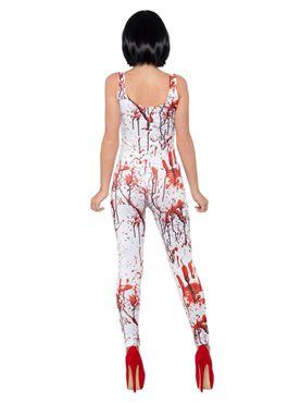 Adult Fever Blood Splatter Costume - Side View
