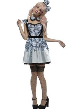 Adult Fever Broken Doll Annie Costume