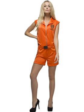 Adult Fever Convict Queen Costume