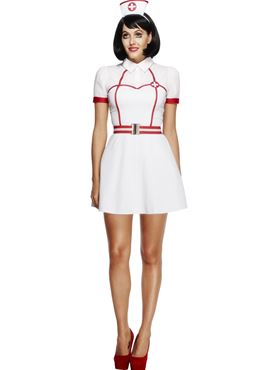 Adult Fever Bed Side Nurse Costume