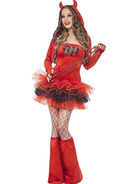Adult Fever Devil Tutu Costume