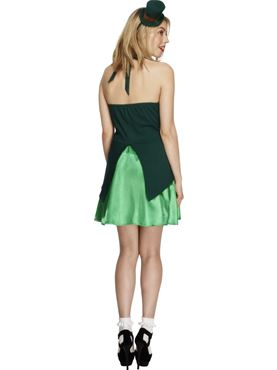 Adult Fever St Patricks Costume - Back View