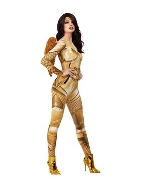 Adult Fever Divine Guardian Angel Costume - Back View