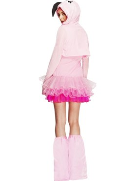 Adult Fever Flamingo Costume - Side View