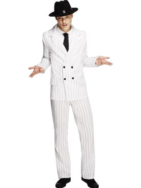 Adult Fever Gangster Costume