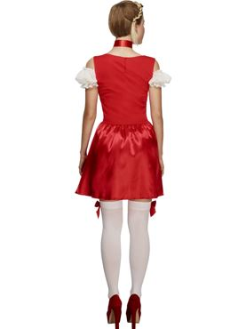 Adult Fever Christmas Dirndl Costume - Side View