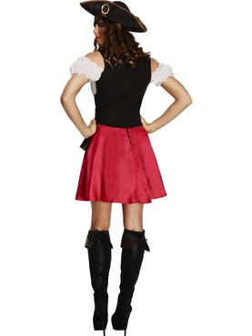 Adult Fever Pirate Wench Costume - Side View