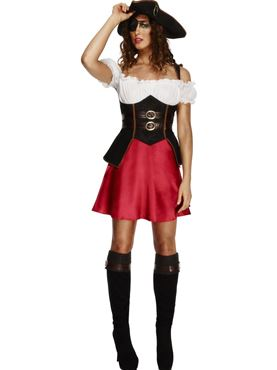 Adult Fever Pirate Wench Costume