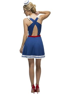 Adult Fever Hey Sailor Costume - Side View