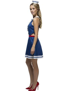 Adult Fever Hey Sailor Costume - Back View