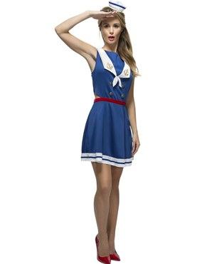 Adult Fever Hey Sailor Costume