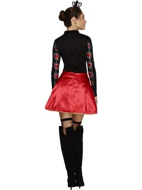 Adult Fever Queen of Hearts Costume - Side View