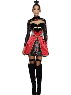 Adult Fever Queen of Hearts Costume
