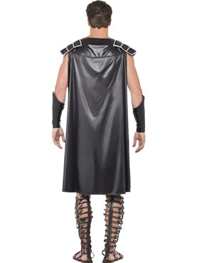 Adult Fever Male Dark Gladiator Costume - Side View