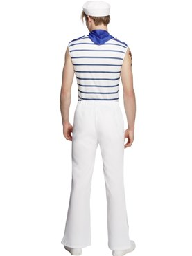 Adult Fever Male French Sailor - Side View