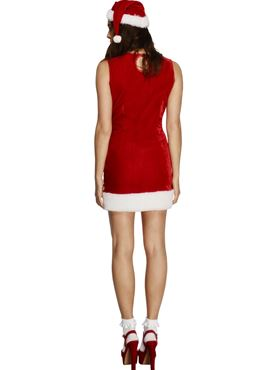 Adult Fever Miss Santa Cutie Costume - Side View
