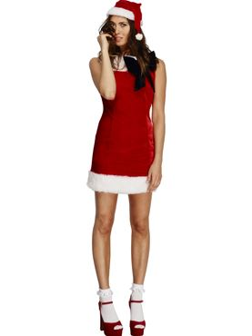 Adult Fever Miss Santa Cutie Costume