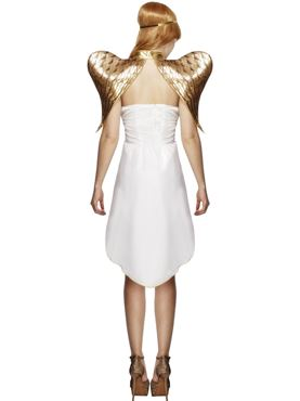 Adult Fever Glamorous Angel Costume - Side View