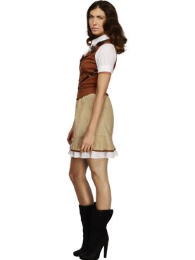 Adult Fever Sheriff Costume - Back View