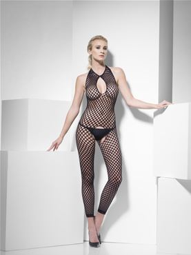 Adult Fever Polka Dot Body Stocking