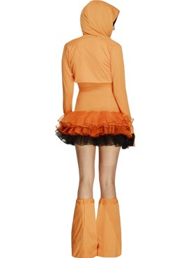 Adult Fever Pumpkin Costume - Side View