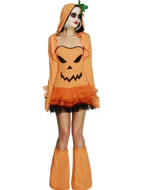 Adult Fever Pumpkin Costume