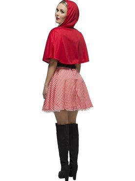 Adult Fever Red Riding Hood Costume - Side View