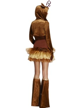 Adult Fever Reindeer Costume - Side View