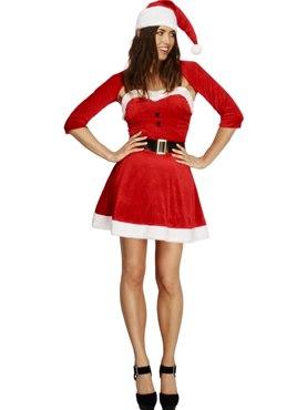 Adult Fever Santa Babe Costume Thumbnail